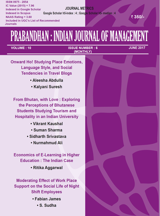 Indian Journal of Management June